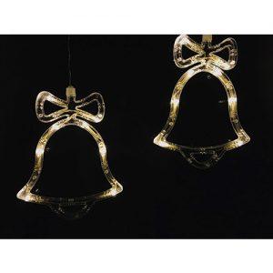 1 Stück LED Glocke Weihnachtsschmuck (19cm)