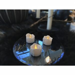 6 Stück Deluxe LED Teelichter
