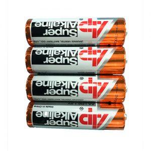 4 Stück AP Super Alkaline AA Batterien