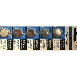 CR2032 Batterien (5 Stück)