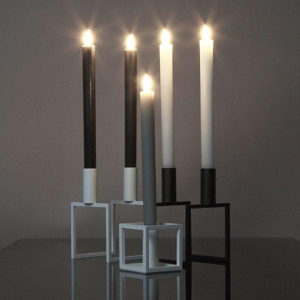 2 Stück LED Tafelkerzen