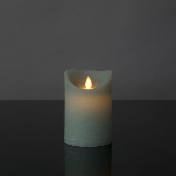 1 Stück LED Light Mint Kerze (12,5 cm)